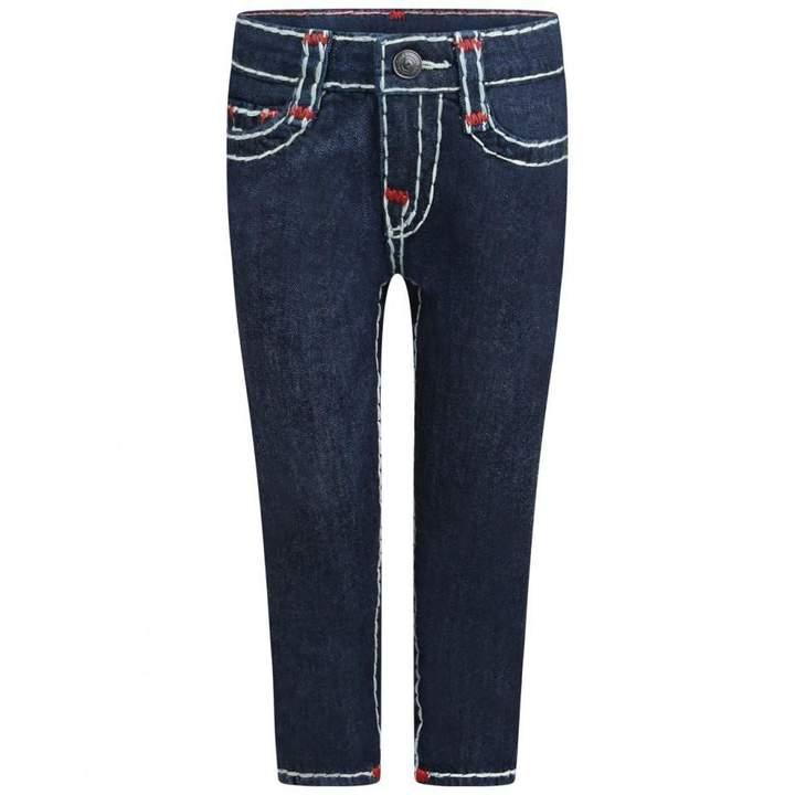 True ReligionBlue Rinse Rocco Super T Jeans
