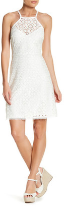 Laundry By Shelli Segal Halter Lace Dress (Petite) $168 thestylecure.com