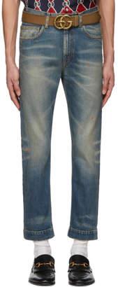 Gucci Blue Stonewash Sixties Jeans