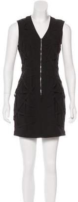 Kimberly Ovitz Crosshatch Mini Dress