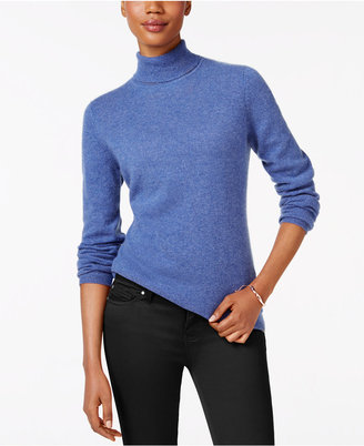 Charter Club Cashmere Turtleneck Sweater, Only at Macy's $139 thestylecure.com