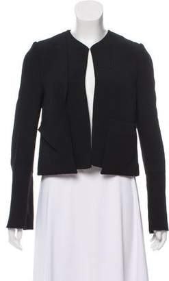 Derek Lam Collarless Casual Jacket