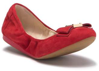 Cole Haan Tali Bow Ballet Suede Flat