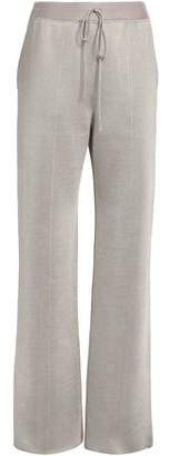 Bottega Veneta Stretch Wool And Silk-Blend Wide-Leg Pants