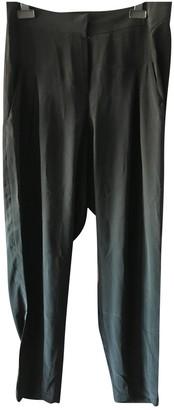 Et Vous Black Silk Trousers for Women