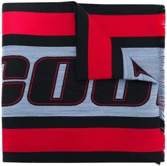 Marcelo Burlon County of Milan colour-block logo scarf