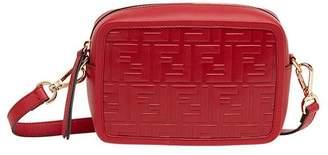 Fendi red Mini Camera Case cross body bag
