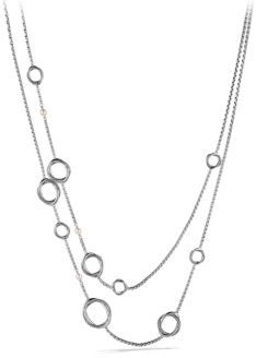 David Yurman Infinity Necklace with Pearls $975 thestylecure.com