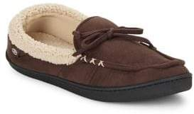 Isotoner Faux Fur-Lined Moccasins