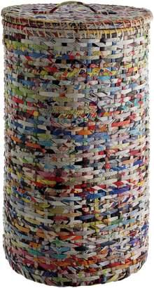 Habitat Cohen Recycled Magazine Laundry Basket