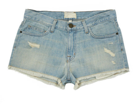 Current/Elliott Trash Wash Cut Off Shorts