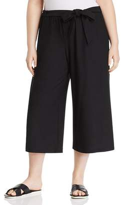Eileen Fisher Plus Belted Culottes