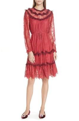 Needle & Thread Scallop Frill Lace Dress