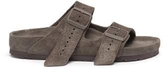 Birkenstock Rick Owens x 'Arizona' cow fur sandals