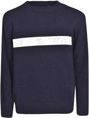 Junya Watanabe Reflective Stripe Sweater