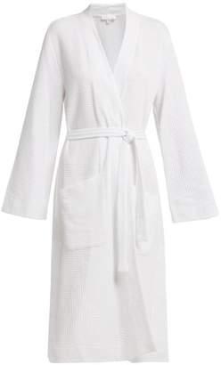 Callahan Skin Waffle Weave Cotton Robe - Womens - White