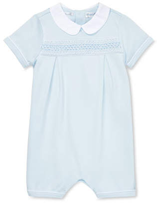8df8cb82c Ralph Lauren Childrenswear Smocked Shortall w  Peter Pan Collar
