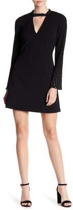 Rachel Roy Embellished Fit & Flare Dress