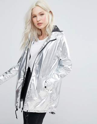 Brave Soul Metallic Festival Trench $56 thestylecure.com