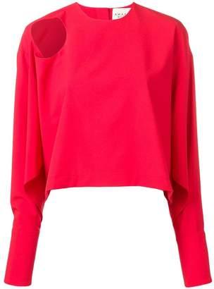 Awake cut-out shoulder blouse
