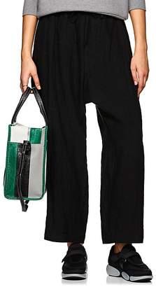 Yohji Yamamoto Women's Linen Drawstring Pants