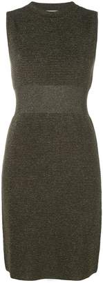 Moschino ribbed lurex dress