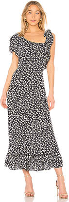 Ganni Roseburg Crepe Dress