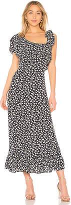 Ganni Roseburg Crepe Dress