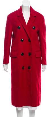 Burberry Double-Breasted Wool-Cashmere Coat