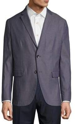 Theory Notch Lapel Wool Jacket