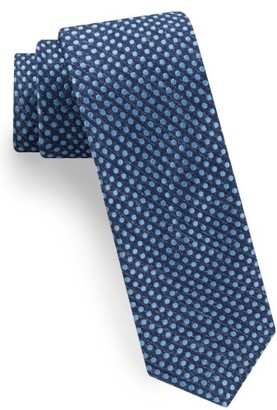 Men's Ted Baker London Tussah Party Dot Silk Tie $95 thestylecure.com