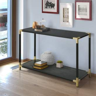 ONLINE Furniture of America Wang Contemporary Sofa Table, Black
