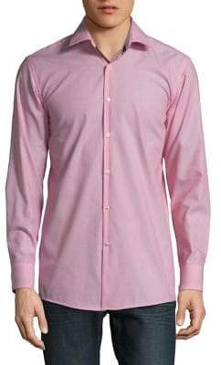 HUGO BOSS Cotton Button-Down Shirt