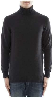 Drumohr Black Cachemire Turtleneck
