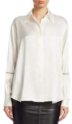 Victoria Beckham Masculine Shirt