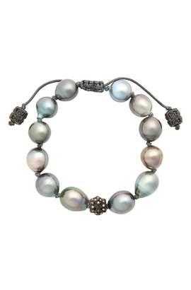 Armenta Old World Pearl & Diamond Bracelet