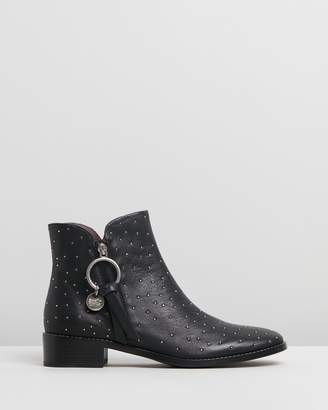 See by Chloe Pin Stud Boots
