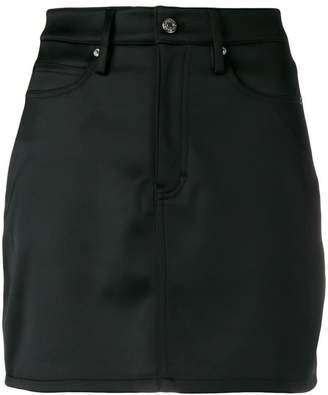 Calvin Klein Jeans satin mini skirt