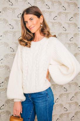 Eleven Paris Six Ivory Charlotte Sweater