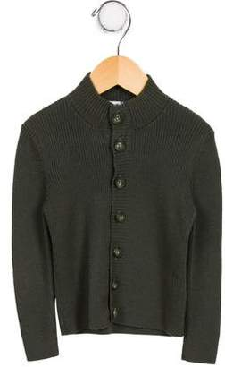 Dolce & Gabbana Boys' Wool Rib Knit Cardigan
