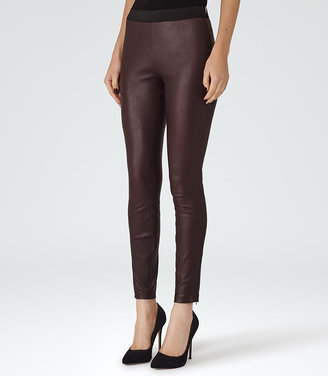 Carrie Leather Leggings $1,035 thestylecure.com