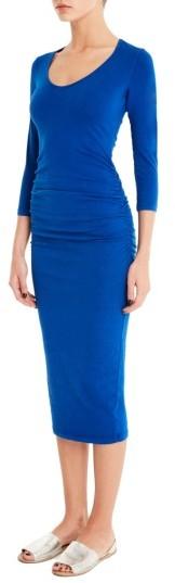 Women's Michael Stars Ruched Midi Dress 2