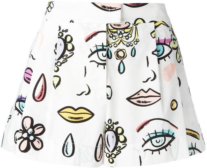 MoschinoBoutique Moschino multi-print shorts