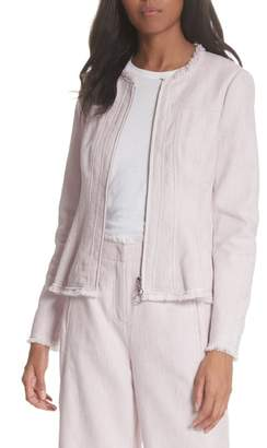 Rebecca Taylor Slub Woven Jacket