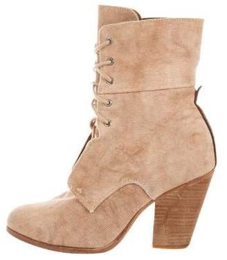 Rag & Bone Round-Toe Ankle Boots