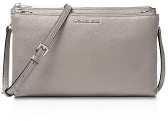 MICHAEL Michael Kors Double Zip Leather Crossbody
