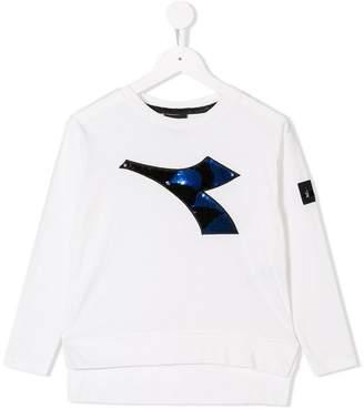 Diadora Junior logo patch sweatshirt