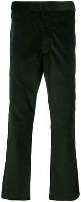 MAISON KITSUNÉ corduroy straight trousers