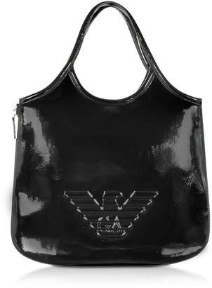Emporio Armani Two-tone Hobo Bag