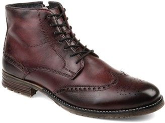 Thomas Laboratories & Vine Ryker Men's Wingtip Ankle Boots